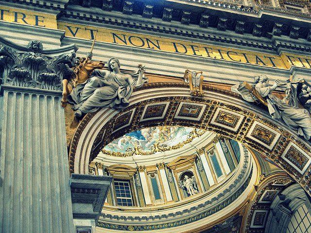 St. Peter's Basicila, Vatican. Photo by: Randy, OHC.