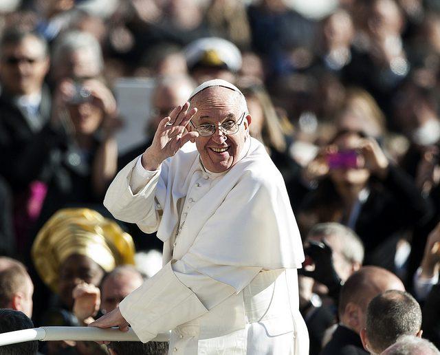 Pope Francis. Photo Credit: Mazur.