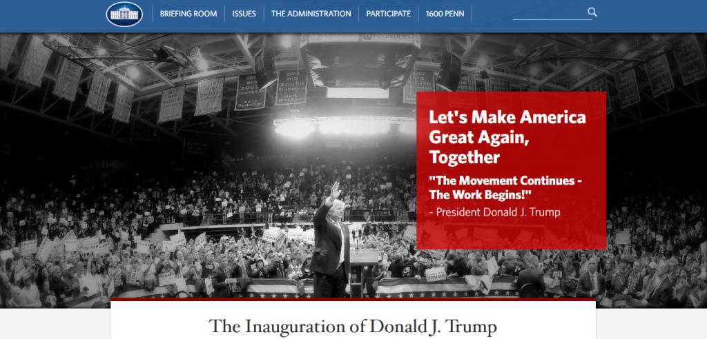 trumpwebsite