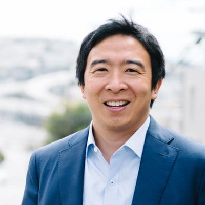 """Andrew Yang Thinks It's """"Ridiculous"""" How Some People Believe Atheists Are Less Moral"""