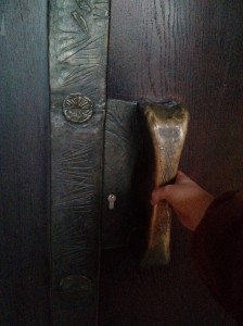 Jason Mankey always says use more images in your blogs. So here's a random one of a cool door in Germany.