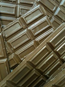 Chocolate bars I made
