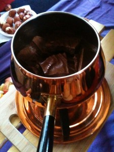 Homemade chocolate at an Ostara chocolate party I threw a few years back.