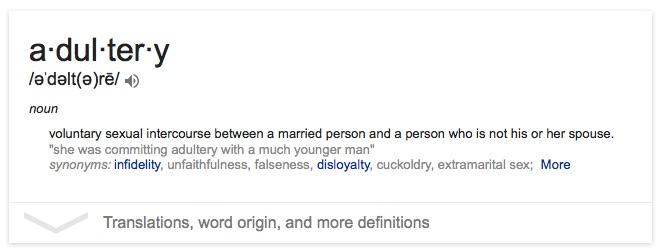 adultery copy