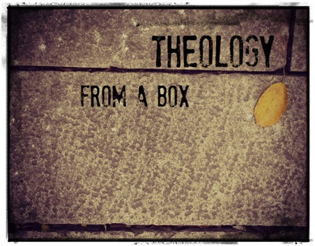 Theology from a Box (logo)
