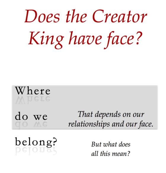 Creator King Cover English