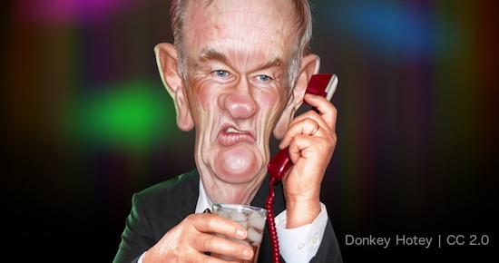 Bill O'Reilly Donkey Hotey