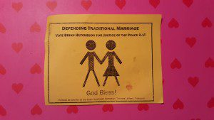 Of course traditional Biblical marriage included polygamy and sex slaves...