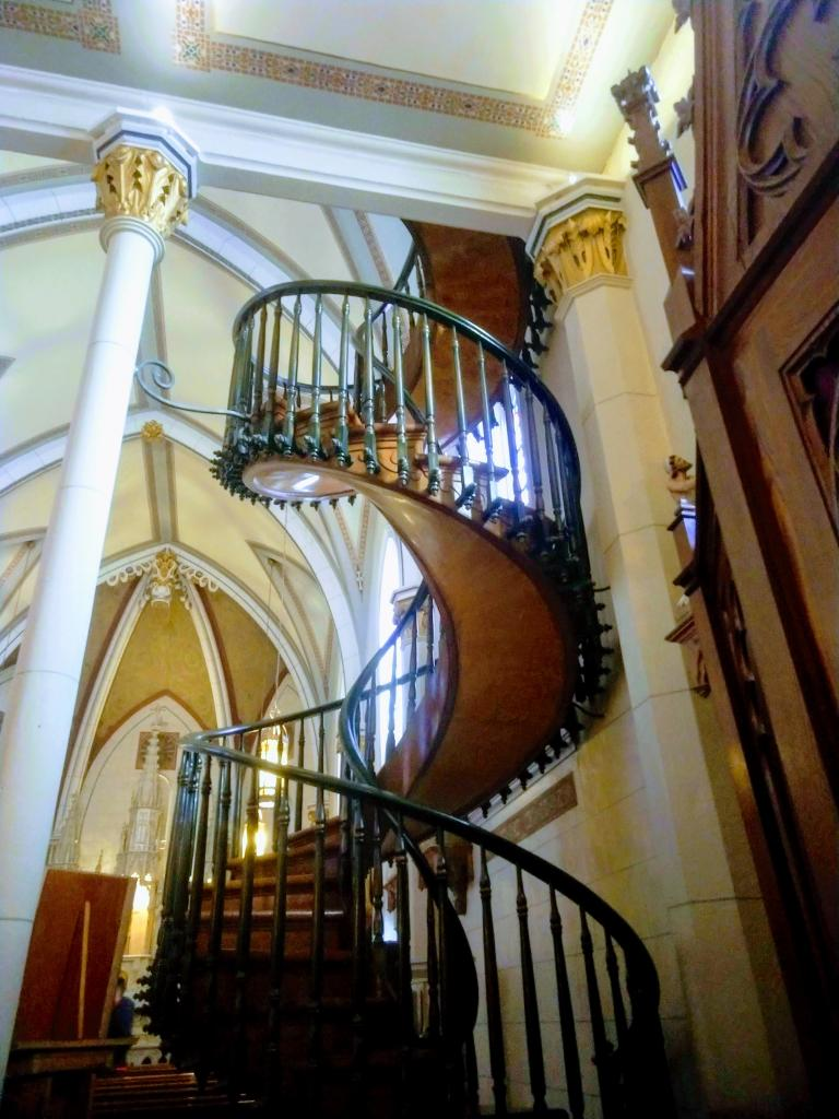 Santa Fe Loretto Chapel Staircase