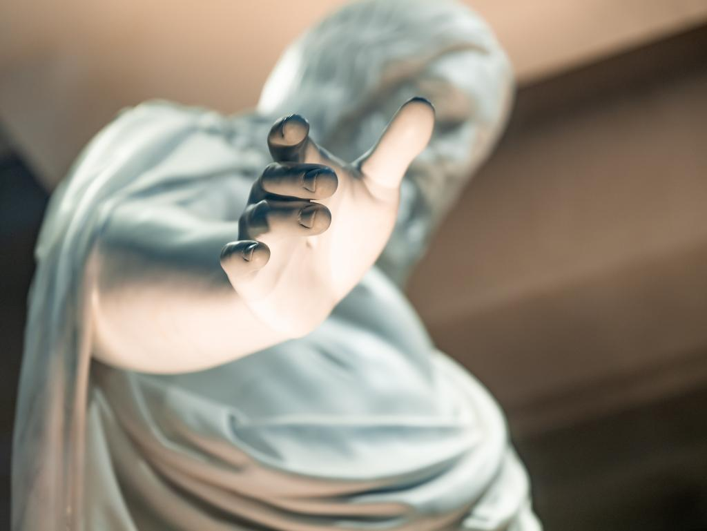 Hand of Jesus
