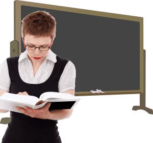 female-teacher-blackboard