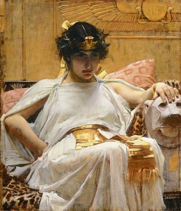 412px-Cleopatra_-_John_William_Waterhouse