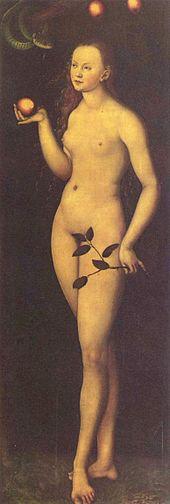 Eva by Lucas Cranach the Elder | Wikimedia Public Domain