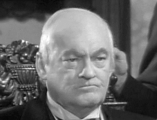 Lionel Barrymore as Mr. Potter in It's a Wonderful Life (1946)