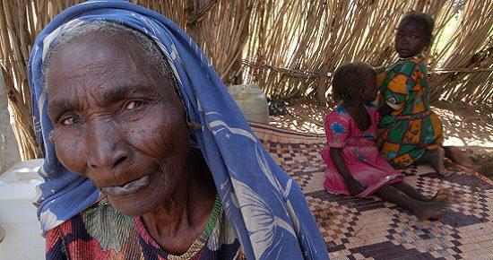 grandmother in Darfur 550x290