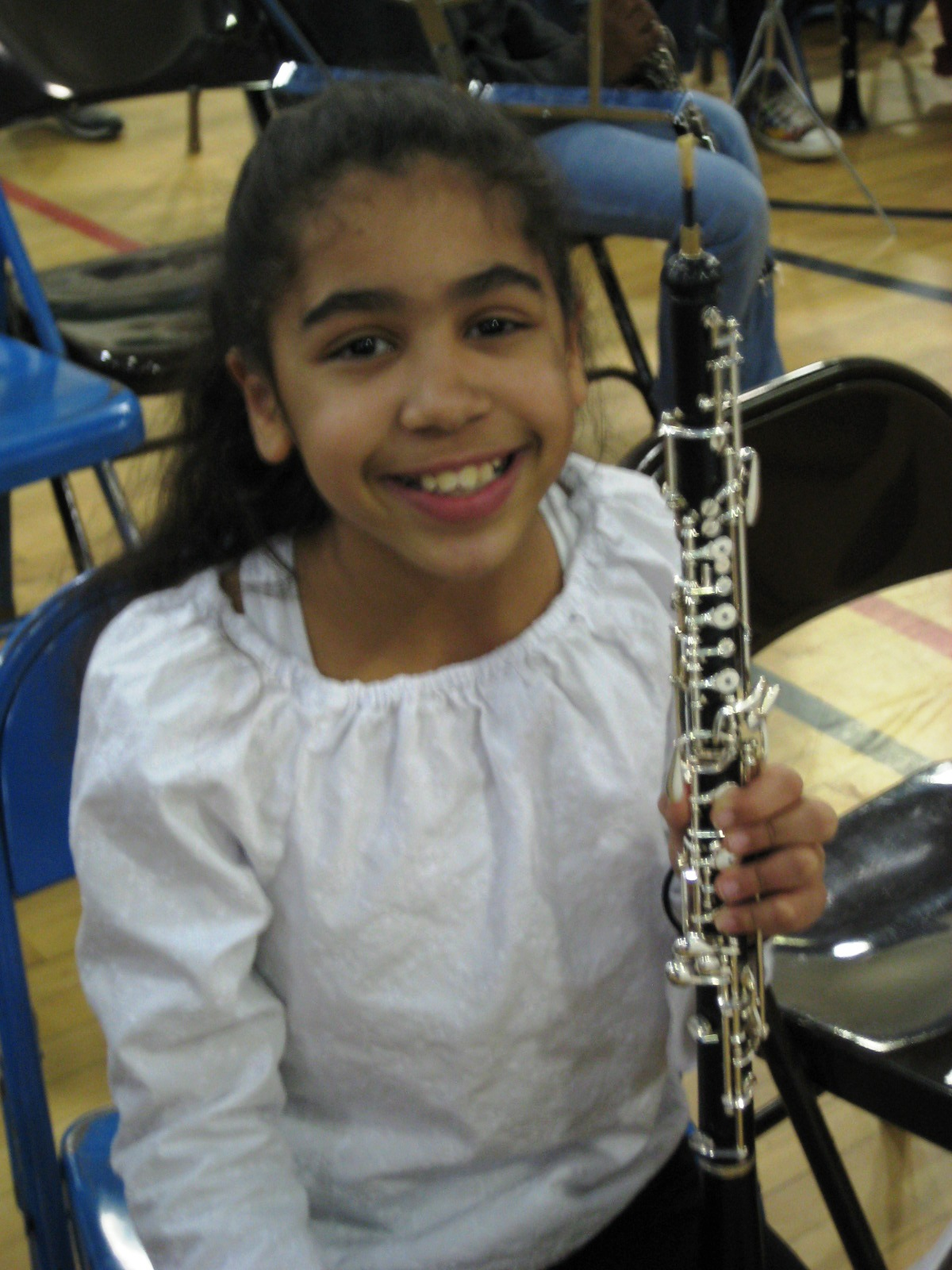 Hannah in the band