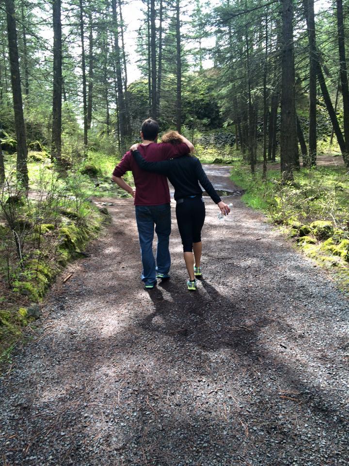 Hannah and Sam at Riverside State Park