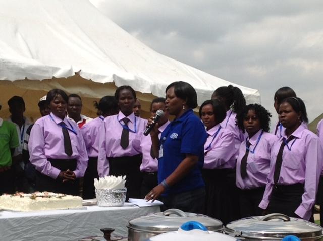 Kenyan Cake Ceremony