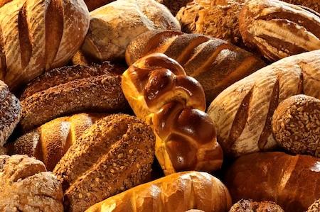 Verschiedene Brotsorten, Formatf¸llend