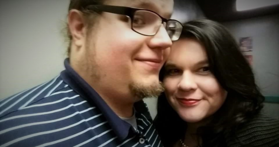 My wife and I about a year ago