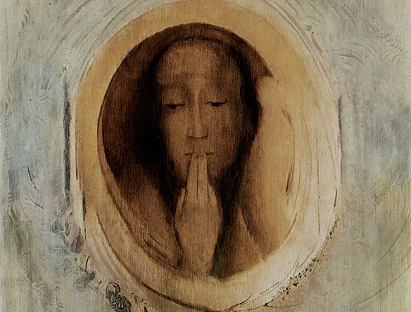 """Silence"" by Odilon Redon.  From WikiMedia."