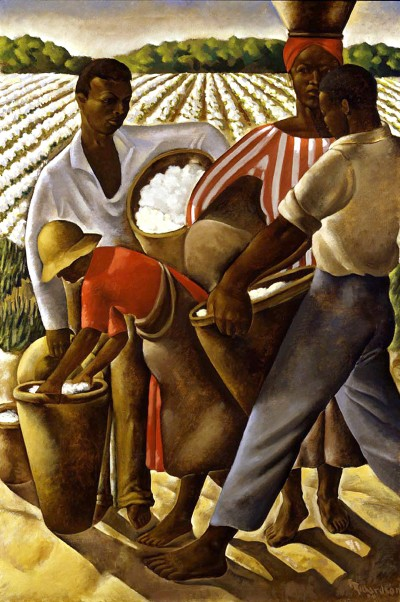 Replace 90 Employment of Negroes in Agriculture, 1934, Richardson, Earle, Smithsonian American Art Museum, DC  Vanderbilt