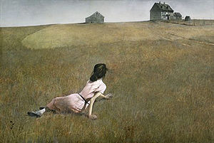 Replace 83  Christina's World, Andrew Wyeth, 1948 Museum Modern Art NY  wiki page for painting