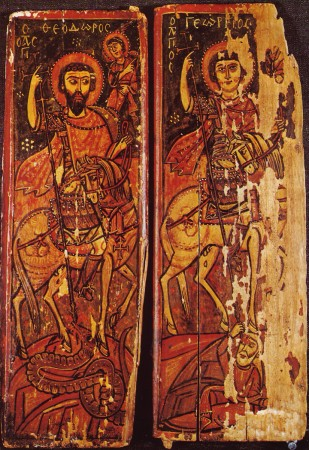 Lent 5, 9th or 10th c., St. George, St. Catherine's Monastery, Sinai, Egypt