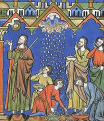 Pentecost 14  Manna in the wilderness icon