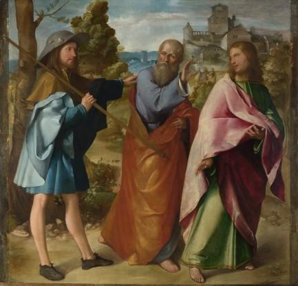 Easter 3  Melone, Altobello 1490-1543  National Gallery London