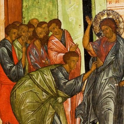 Easter Doubting Thomas Icon