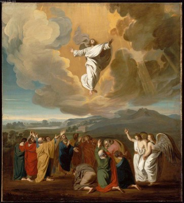 Ascension, John Singleton Copley, MFA Boston  18th c.