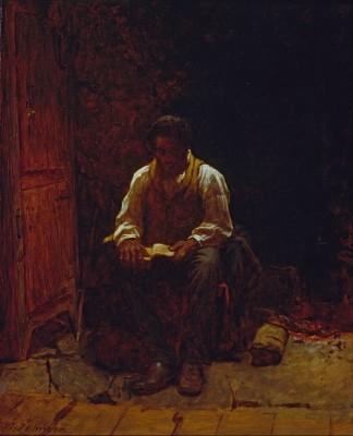 Pentecost 9  Lord Is My Shepherd, 1863, Eastman Johnson, Smithsonian American ARt Mus.