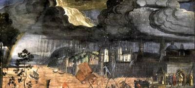 Pentecost 14, Rosselli, Cosimo, 1481  Crossing the Red Sea, Cappella Sistina (Vatican Palace, Vatican City)
