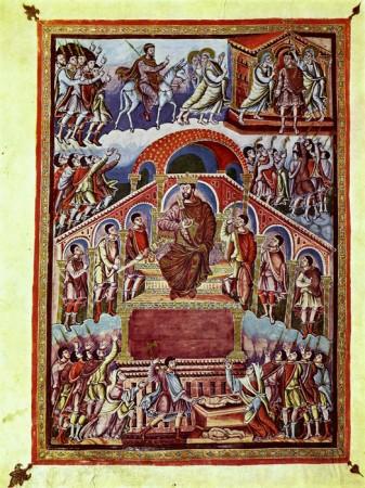 Pentecost 16 Judgment of Solomon.  880 AD  Attribute to Ingobertus, Chiesa di San Paolo, Rome
