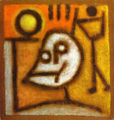 Pentecost 22 Death_and_Fire by Paul Klee, Bern Switzerland 1940