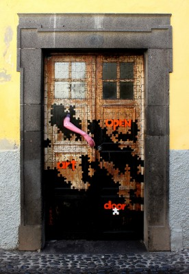 Pentecost 26, 2012 One door in the ArT of opEN doors project, Funchal, Portugal