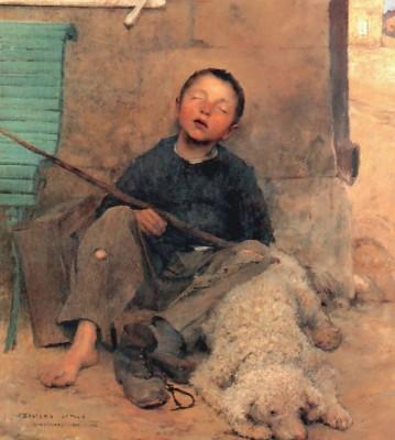 Pentecost 26, Jules_Bastien-Lepage_The_Blind_Beggar, Musee de Beaux-Arts, Tournai, France