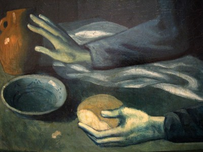 Pentecost 26, The Blind Man's Meal, 1903, Pablo Picasso, Museum of Modern Art, NYC
