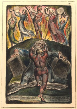Pentecost 27, William Blake, 1804, To annihilate the Self-hood of Deceit and False Forgiveness, NY Public Library