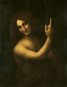Advent 2 Leonardo_da_Vinci_-_Saint_John_the_Baptist_C2RMF_retouched  en.wikipedia.org