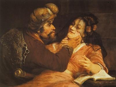 ADvent 3  Judah andTamar Gelder,_Aert_de_-_Tamar_and_Judah_-_1667  wikipedia page Tamar (Genesis)