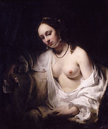 Advent 3  Bathsheba by Willem_Drost_, 1654 Louvre Museum, Wiki page Bathsheba