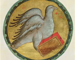 Christas 2 the-eagle-of-st-john-the-evangelist. wikiart.org