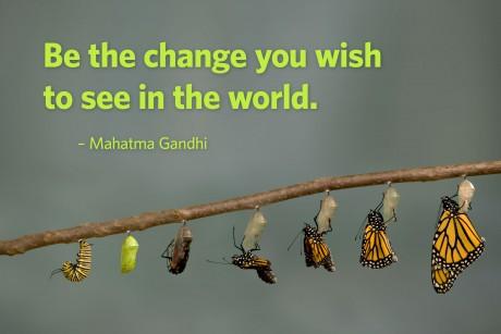 Epiphany 4 BeTheChange_Gandhi poster
