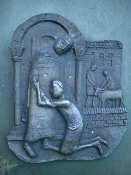 Lent 4 Prodigal Son Galway Cathedral, Ireland. Vanderbilt