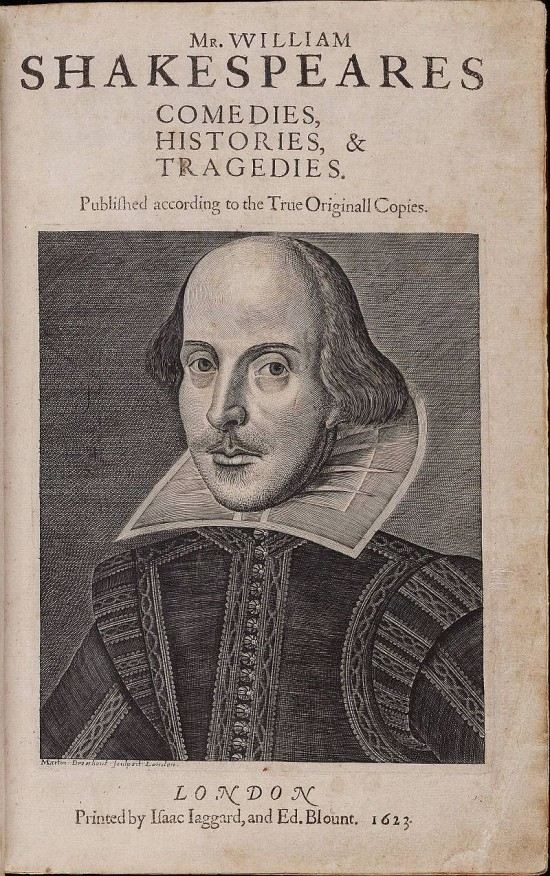 Easter 6 Title_page_William_Shakespeare's_First_Folio_1623