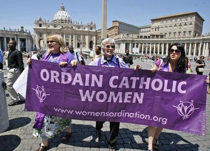 Pentecost 4 image, Ordain Catholic Women, from Women's Ordination Worldwide.org