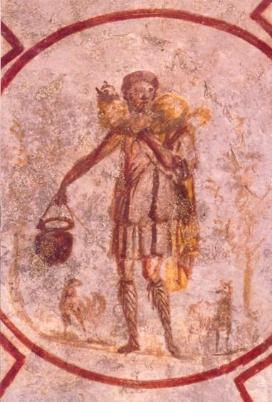 Goodshepherd- Catacomb of Callixtus - Cimitero di Callixtus, Rome Vanderbilt