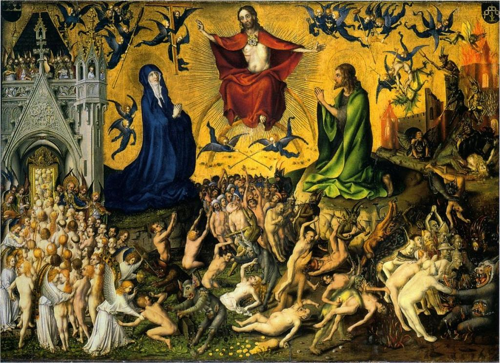 Last Judgment Stefan_Lochner_circa_1435 Wallraf-Richartz Museum, Cologne